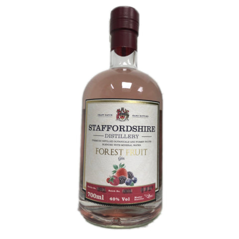 Staffordshire Distillery- Forest Fruit Gin