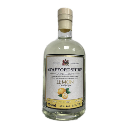 Staffordshire Distillery- Distilled Lemon Gin