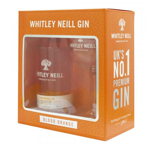 Whitley Neill Blood Orange Gin Gift Pack with Glass - Sadler's Peaky Blinder