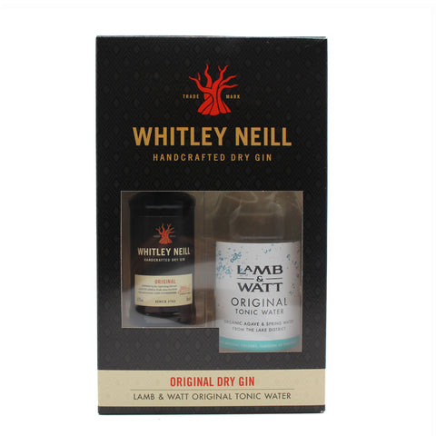 Whitley Neill Original Dry Gin Miniature & Original Tonic Gift Set