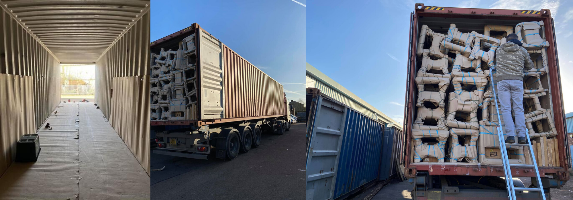 40ft container full