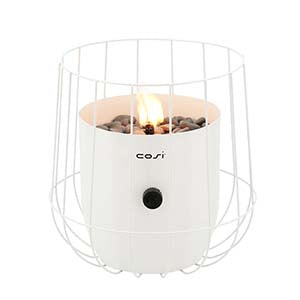 cosicoop white basket fire pit