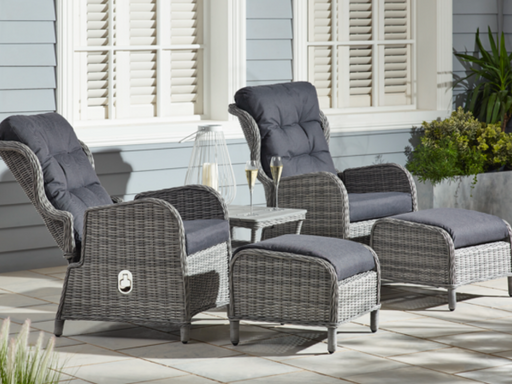 The Cane Industries Aruba Rattan Suite