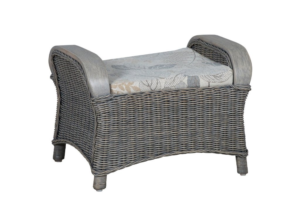 The Cane Industries Eden Footstool