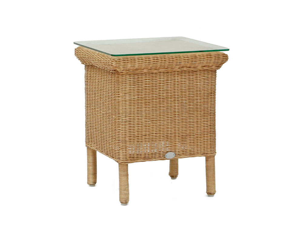 Laura Ashley natural side table