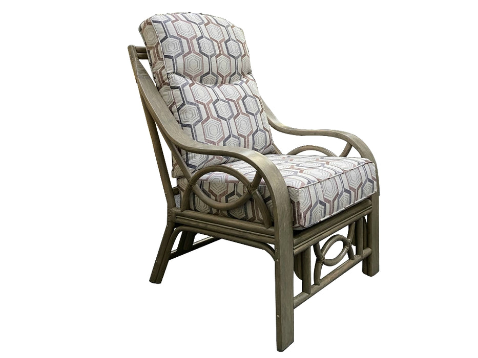 Malawi Grey Wash Armchair