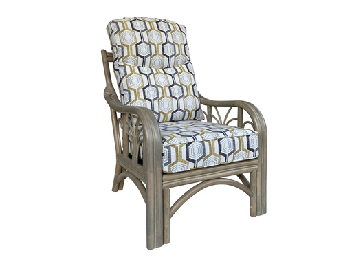 Palm Grey Wash Armchair