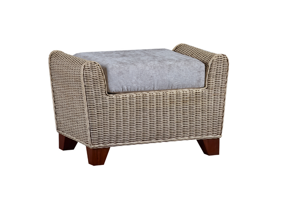 The Cane Industries Della Footstool