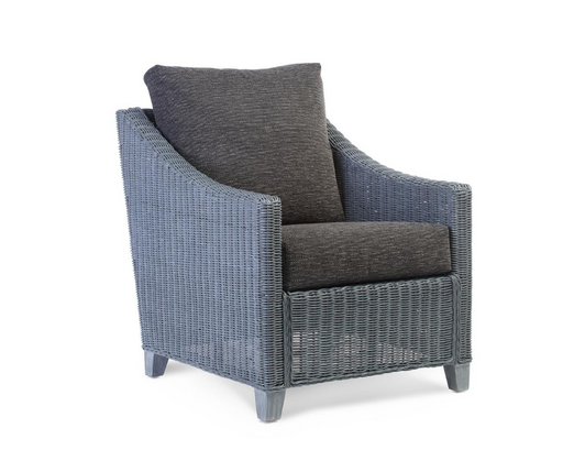 Desser Dijon Armchair in slate fabric