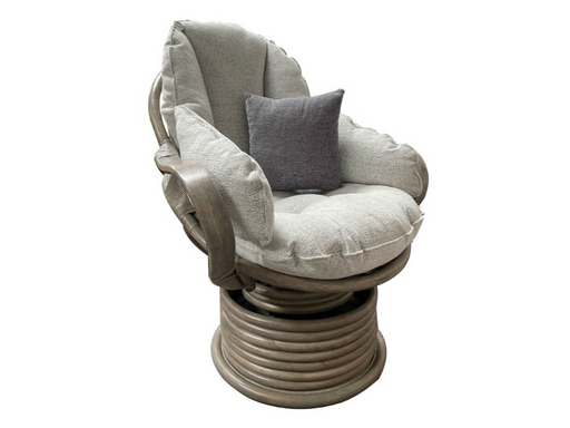 Grey Flat Arm Rocker