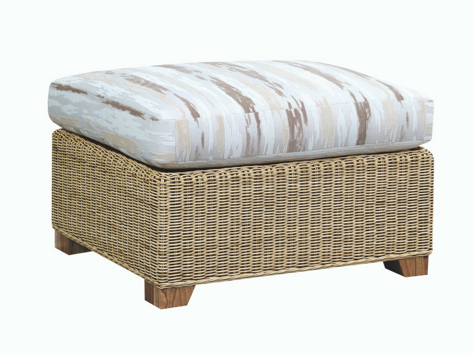 The Cane Industries Luca Grand Footstool