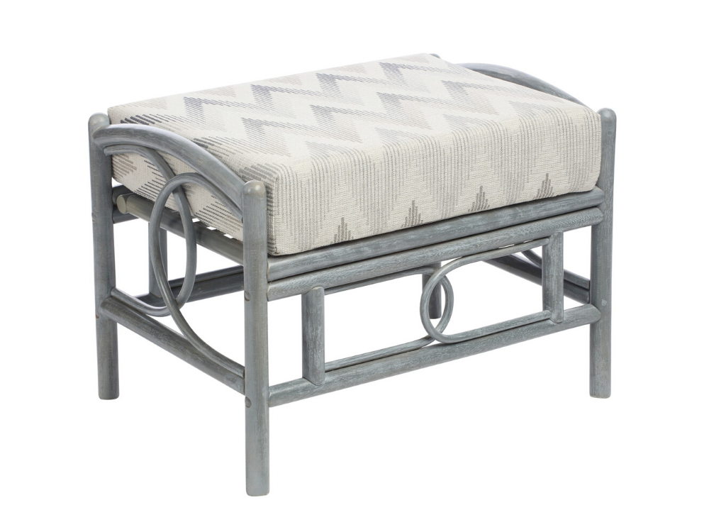 Madrid Grey Footstool