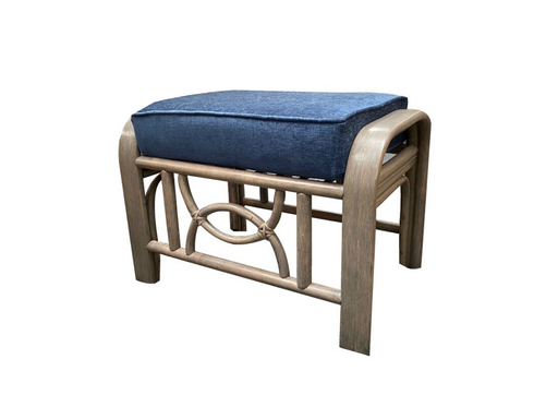 Malawi grey wash footstool