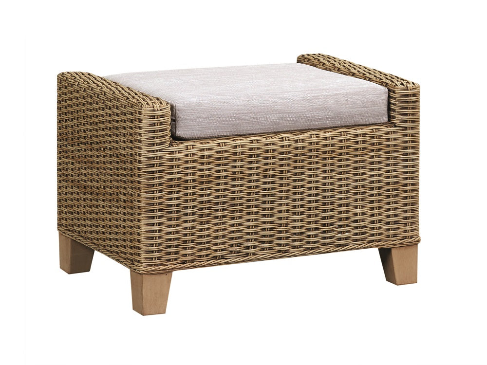 The Cane Industries Norfolk Footstool