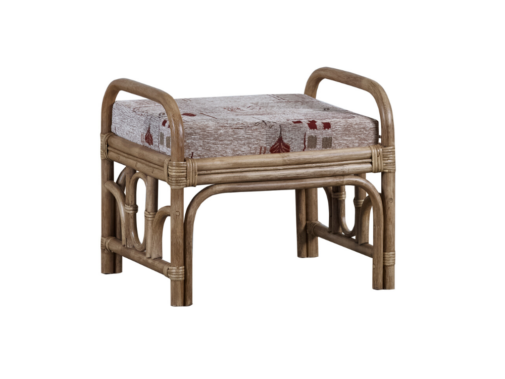 The Cane Industries Padova Footstool
