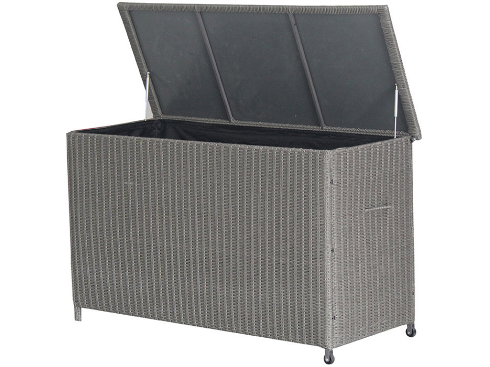 Rattan outdoor storage