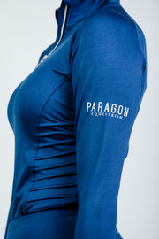 PIN TUCK BASELAYER - COLBALT