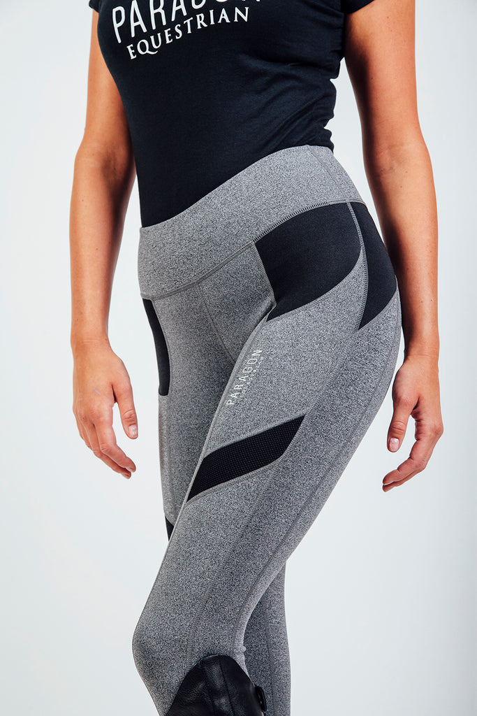 TECHNICAL RIDING LEGGINGS - GREY