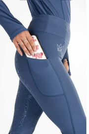 Crown Technical Riding Leggings - Flint