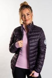 The Puffer Jacket - Mulberry