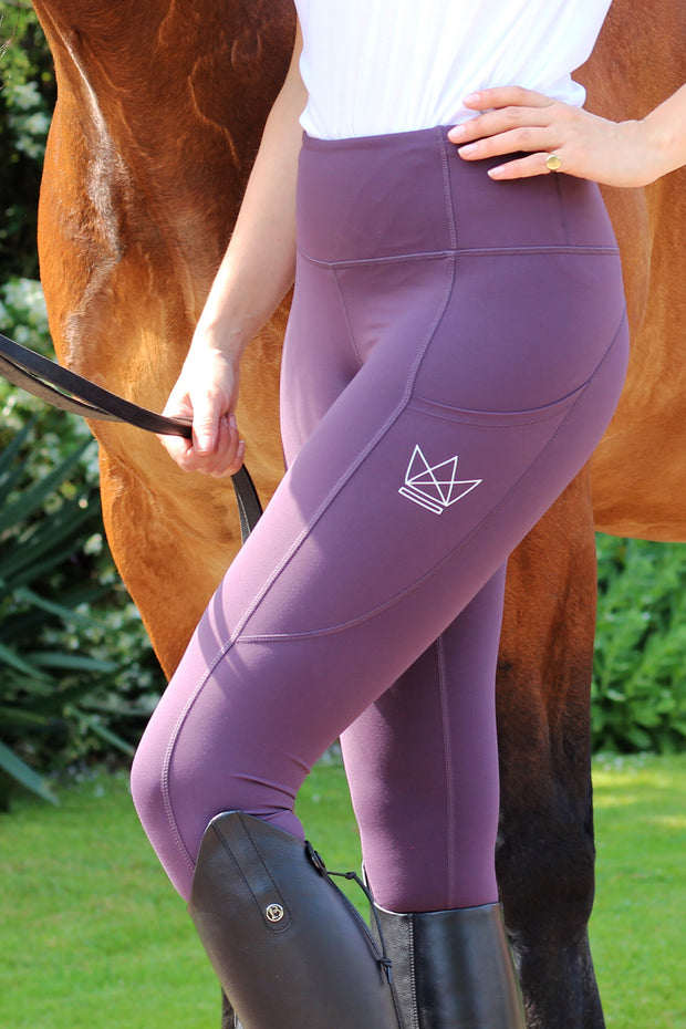 Contour Legging - Mulberry