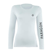 Luxe Sport Base Layer - White/Black