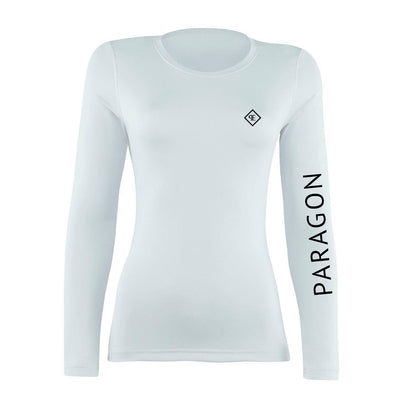 Luxe Sport Base Layer - White/Black (Sample)