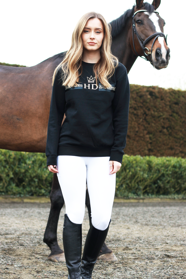 Monogram Sweatshirt - Black