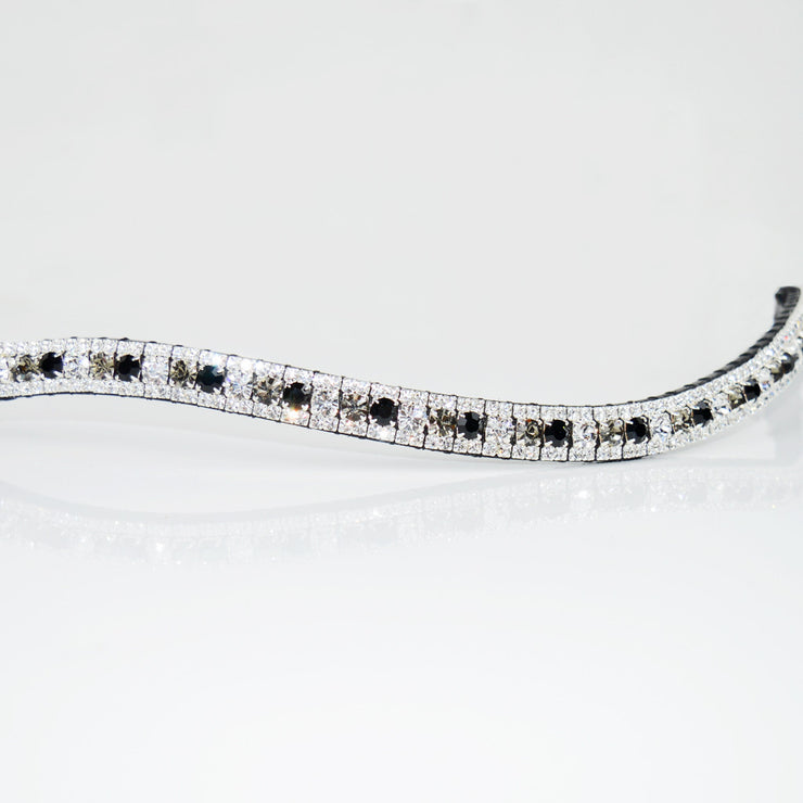 Jet Multi Colour Glitz Browband