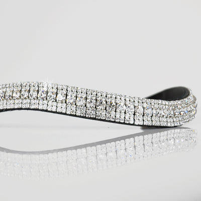 Clear Crystal Megabling Browband