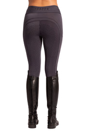 Technical Riding Leggings - Full Dot Seat - Graphite