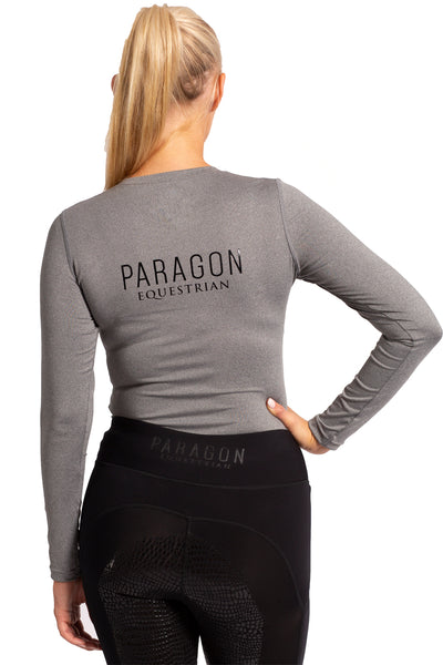 Sporting Luxe Baselayer - Heather Grey