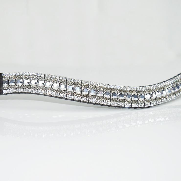 Labrador, Black Diamond and Crystal Megabling Browband