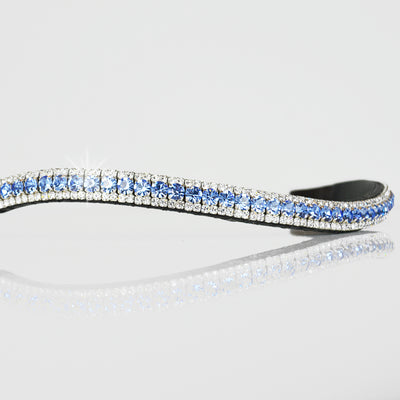 Light Sapphire and Crystal Browband