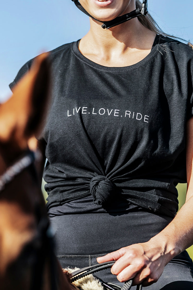 Live.Love.Ride Tee - Black