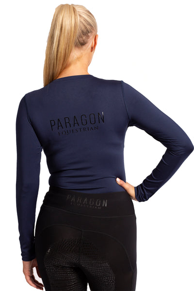 Sporting Luxe Baselayer - Navy