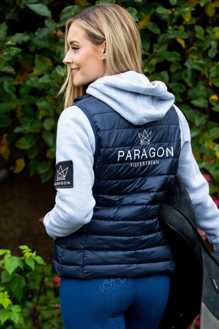 Luxe Sporting Gilet - Navy