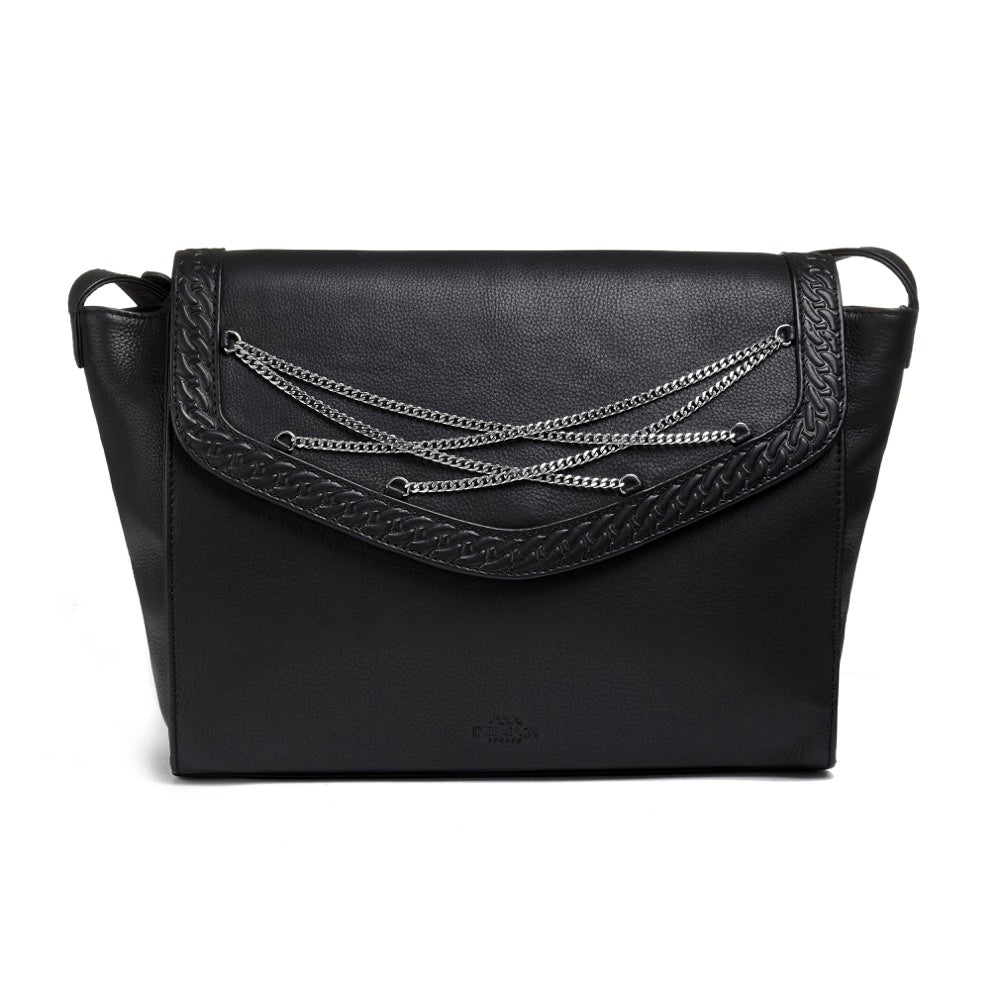 Wardour Leather Shoulder Bag | Debauch London