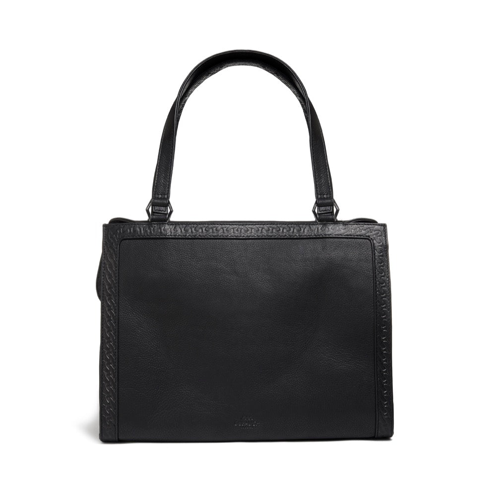 Hanbury Leather Shoulder Bag | Debauch London