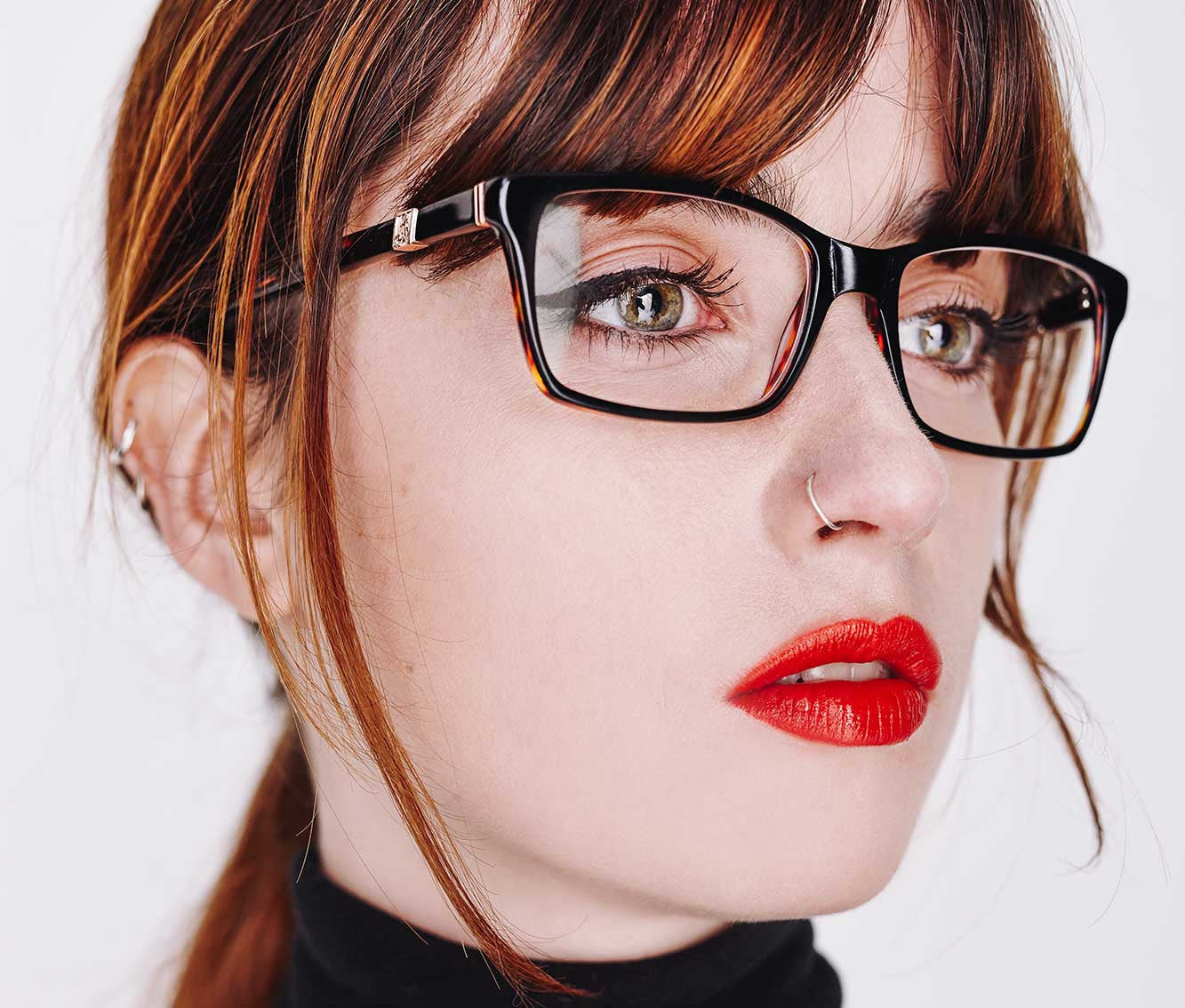 Back to Black Optical Eyewear Frame | Debauch London