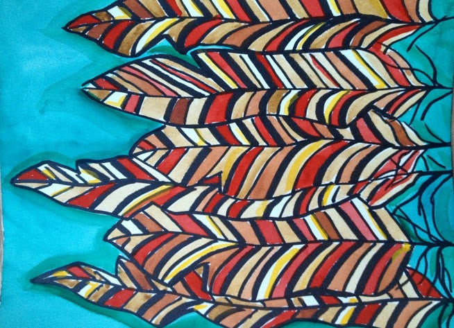 red quill art 4 all hats artwork by abby paffrath