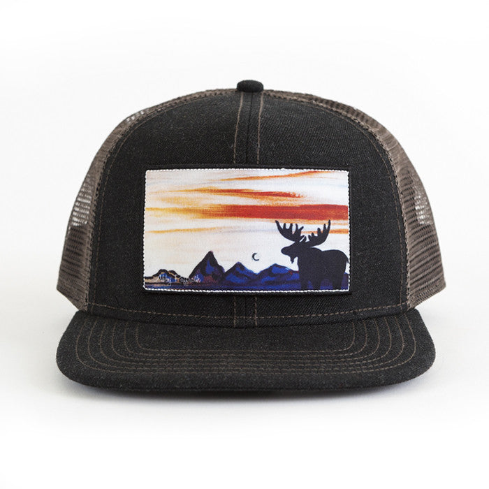 26ac2bc065d02 Bull Moose - Art 4 All Hats   Artwork by Abby Paffrath