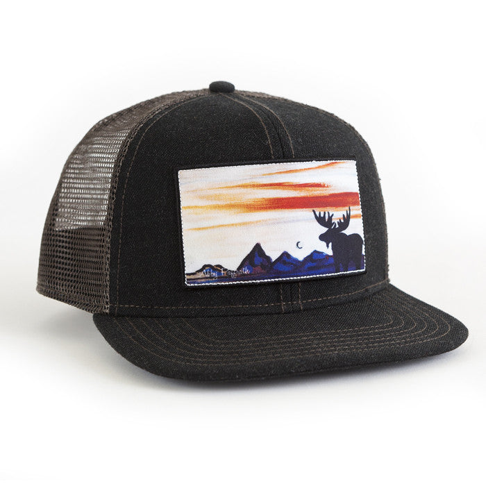 6c48978dca7 Bull Moose - Art 4 All Hats   Artwork by Abby Paffrath