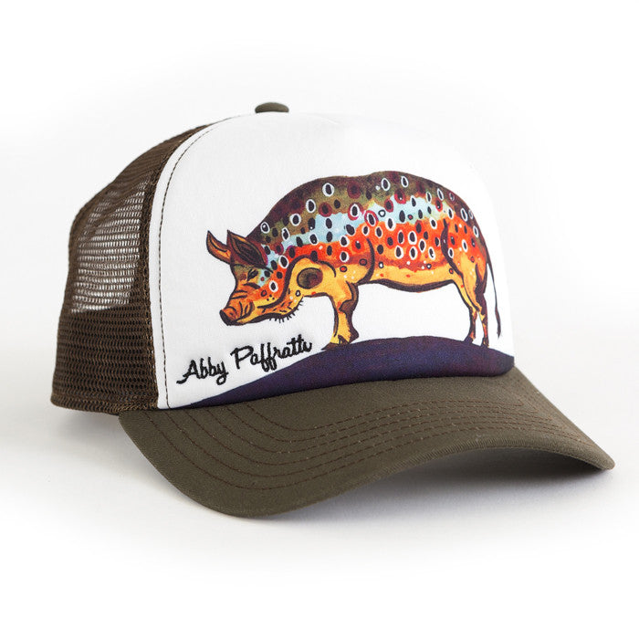 Hog Brown - Art 4 All Hats   Artwork by Abby Paffrath 493f2d57ad7