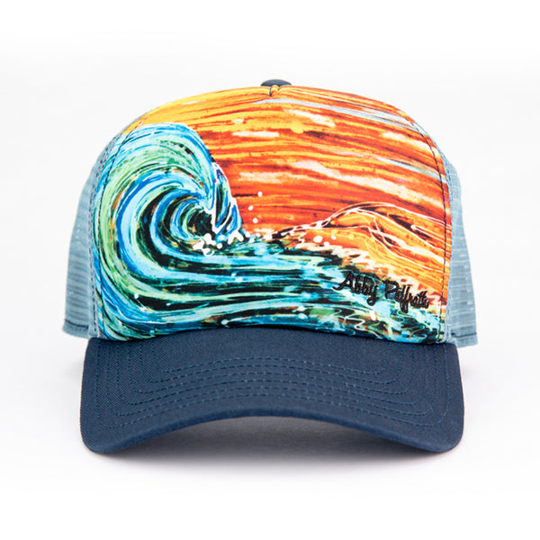 Sunset Surf - Art 4 All Hats   Artwork by Abby Paffrath 456a1612496
