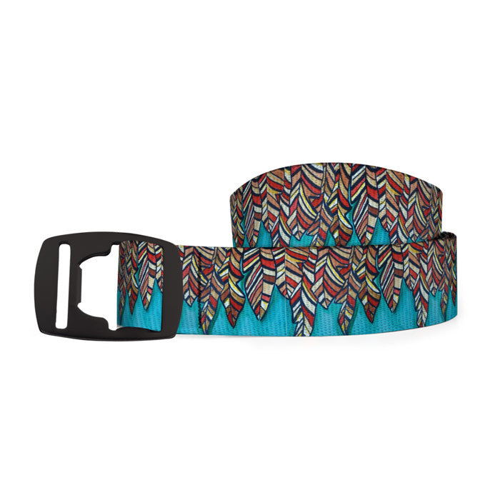 The Red Quill Belt with Bottle Opener Buckle from Art 4 All travel product recommended by Katie Rose Cronin on Lifney.