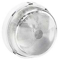 Bulkhead light IP 44 - IK 07 Round - B 22 - glass diffuser