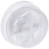 Bulkhead light IP 44 - IK 07 Round - B22 - Polycarbonate diffuser
