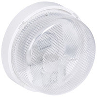 Bulkhead light IP 44 - IK 07 Round - E27 - polycarbonate diffuser