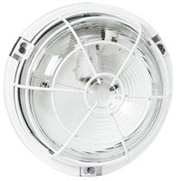 Bulkhead light IP 55 - IK 04 Round - 100 W - E27 - Outdoor use